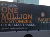 Ads announcing our reaching 1,000,000 customers