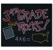 Terrific News about Third Grade!