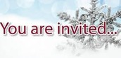Holiday Party this Wednesday from 1:30-2:30