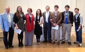 HG Students Take 1st and 2nd Place in Optimist Club Oratorical Contest!