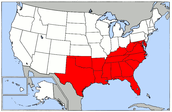 Geography of the South.
