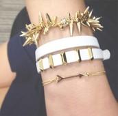 Remy Wrap Bracelet (centre of photo)