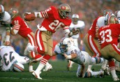 Super Bowl 19, The San Fransisco 49ers and The Miami Dolphins