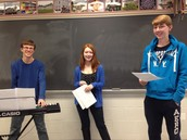 Skits: The mini-musical, featuring an electric piano!