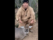 Coach Mueller enjoys hunting on his days off!!