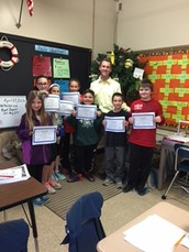 Harding Students win in New Jersey Math League Contest
