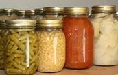 Foods linked to Botulism: