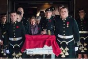 Ottawa Shooting Victim Commemoratio & Hournoring The Fallen Soldier