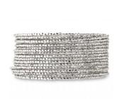 Bardot Spiral Bracelet, Silver