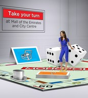 Life Size Monopoly Concept