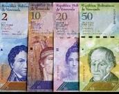 Currency: Venezuelan Bolivar