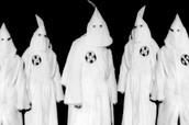 Gathering of KKK members
