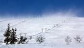 Awesome ski hill