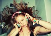 Listening to music🎧