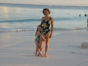 My mom and me in Mexico!