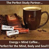 Javita Energy & Mind Coffee is infused with natural herbs that will blow the cobwebs away, improve memory, concentration, focus and attention.