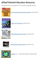 TEA's Updated Resources & Links