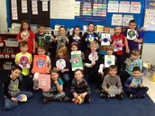 Disguised Turkeys and More in Second Grade