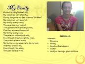 Jasmine A., 9th Grade