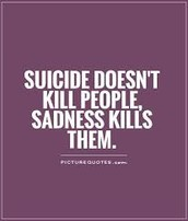 Suicide is the 3rd leading cause of death for 15 to 24-year-olds and 2nd for 24 to 35-year-olds.