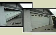 GarageDoor Off Track?