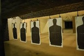 going to shooting ranges