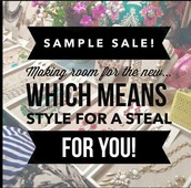 What is Sample sale?