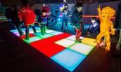 LED感應地磚
