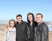 Me, Decker, Caleb and Dalton