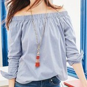 Brio Tassel Necklace