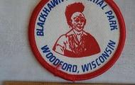 Black hawk badge