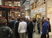 AVID 8 Volunteers at Idaho Food Bank