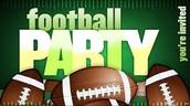 Super Bowl Party Volunteers Needed