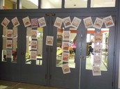 Students' Art Work To Welcome Mr. Harper