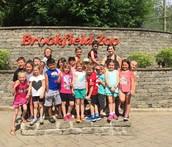 Mrs. Lichtenberg's 1st grade class at the Zoo!