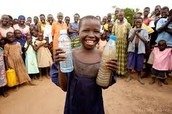 Keds that are getting clean water for the first time