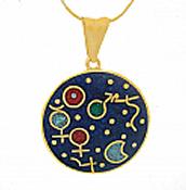 18k Gold Cosmic Moment Charm