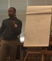 AG Ford gives a demonstration in illustration