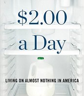 $2.00 A Day: living on almost nothing in America by Kathryn J. Edin and H. Luke Shaefer