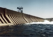 What are some problems and positives of the Aswan Dam?