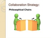 What are Philosophical Chairs?