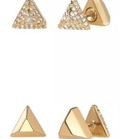 De Ja Vu DOuble-Sided Studs