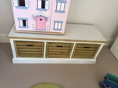 SOLD low storage console - £20
