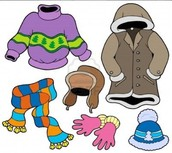 Outdoor Recess-Dress warm and label everything