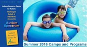 Indiana Resource for Autism Camps