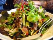 Kaffir Lime Duck Salad
