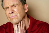 Sore Throat or Coughing