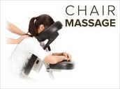 Come and Enjoy a Chair Massage