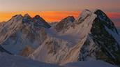 Broad Peak sunset
