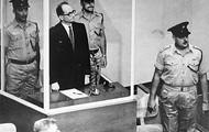 Eichmann at his trial